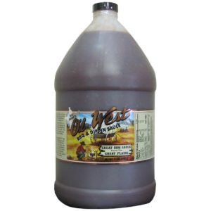 Big John's Ol' West BBQ & Dippin Sauce - Case of Gallon Jugs
