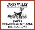 John's Detailed Scent Usage Instructions