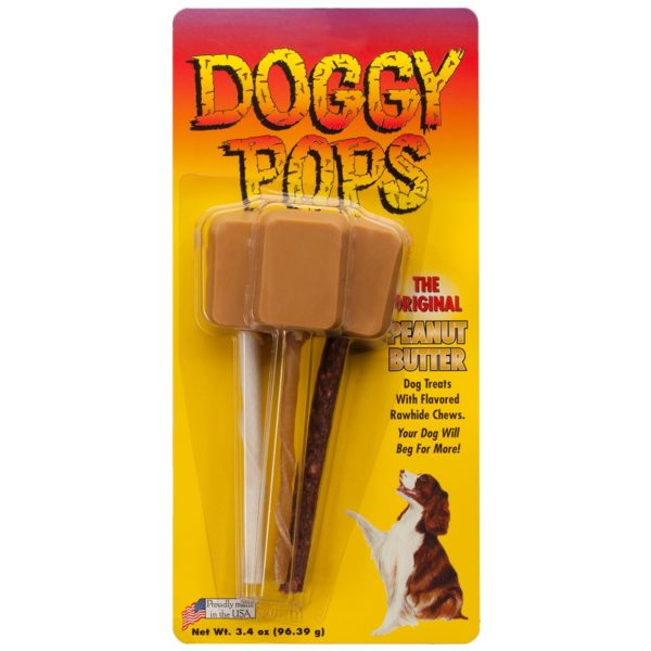 Peanut Butter Doggy Pops - 12 Pack of Triples