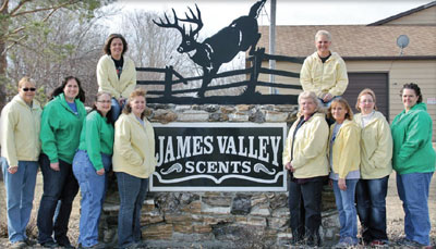 The James Valley Company team